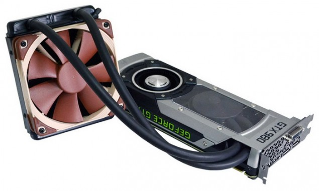 AIO Liquid cooled GTX 980 Spotted