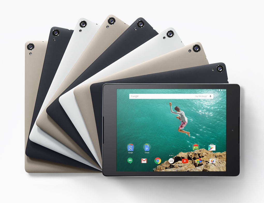 Google Nexus 9 powered by Tegra K1