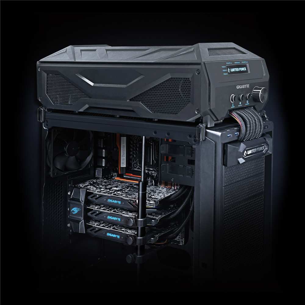 Article :: GIGABYTE GEFORCE GTX 980 WATERFORCE TRI-SLI :: Gigabyte GTX 980 Waterforce Tri-SLI