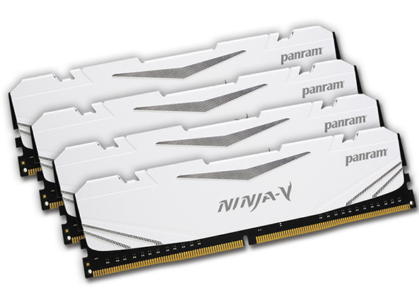 Panram Announces Ninja-V Series DDR4-3300 MHz Memory Kits