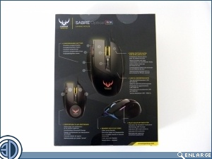 Corsair Sabre RGB Optical Mouse Review