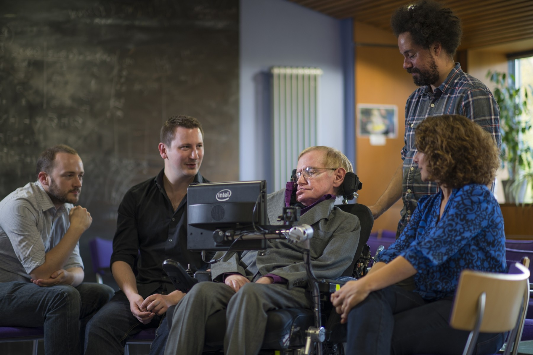 Intel Creates New Communication System for Prof. Stephen Hawking