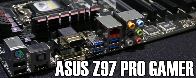ASUS Z97 Pro Gamer Review