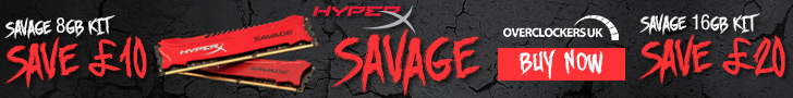 Kingston HyperX Savage DDR3 2400MHz 16GB Kit Review