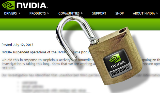 Nvidia employees change passwords following data breach
