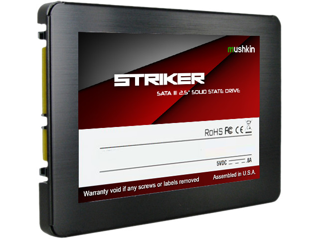 Mushkin Reveal STRIKER Series of SSDs