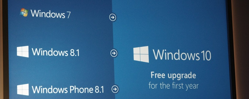 Microsoft Announced Windows 10 Will Be Free Upgrade