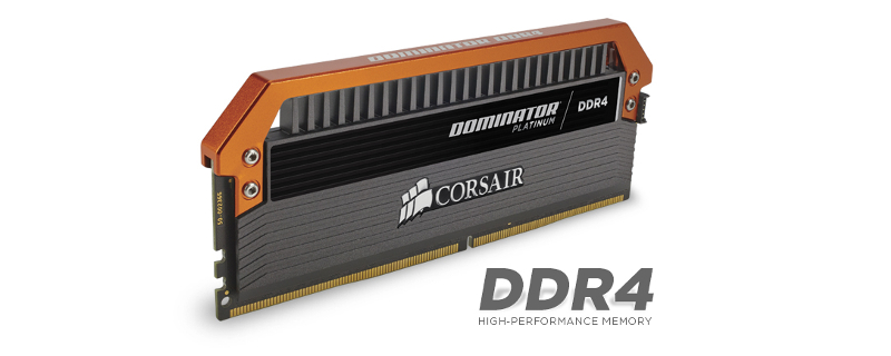 Corsair Limited Edition Orange Dominator DDR4