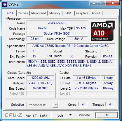 AMD A8-7650K Review