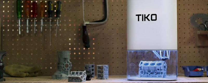 Tiko - The Unibody 3D Printer