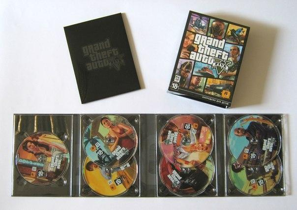 GTA 5 PC RETAIL COPYS TAKES UP 7 DISCS