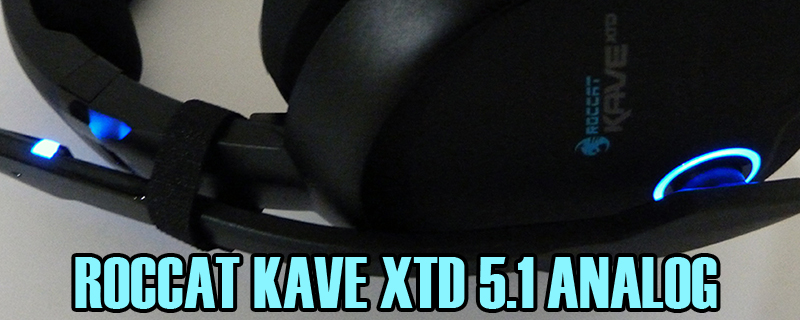 Roccat Kave XTD 5.1 Analog Headset Review