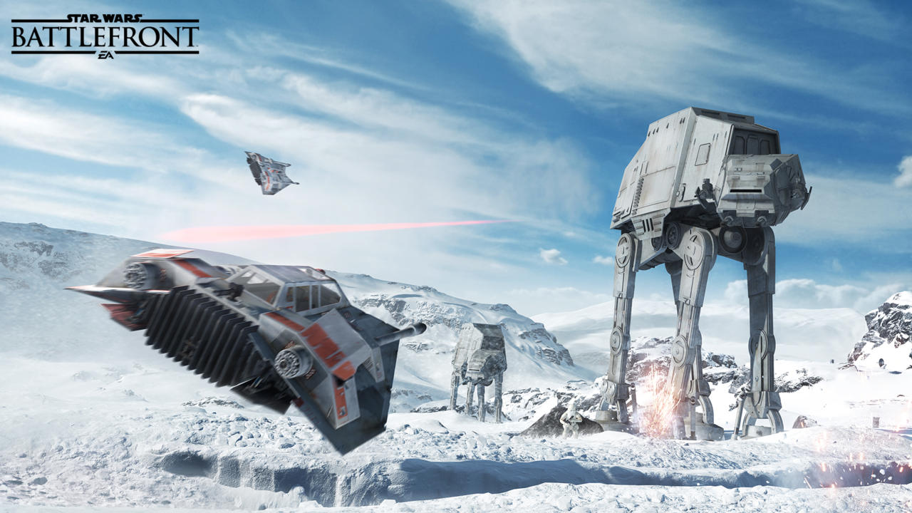 Star Wars Battlefront Reveal Trailer, What is the point of In-Engine Footage?