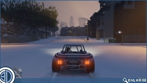 Modder Makes It Snow on GTA V PC