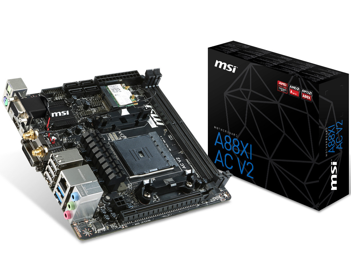 MSI launches 8 new AMD Godavari ready FM2+ motherboards