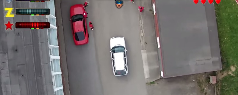 GTA 2 Recreated in Real Life with Drones