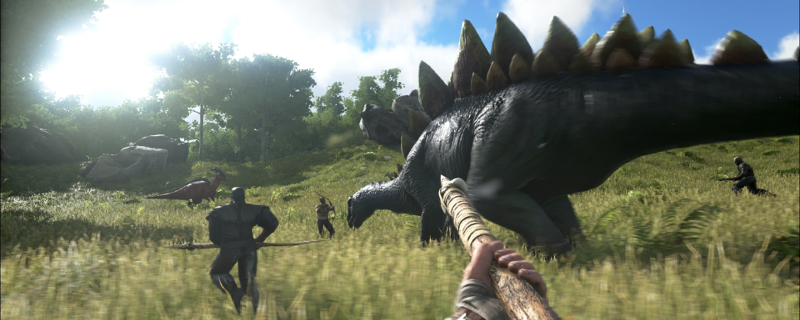 Ark: Survival. The Dinosaur Survival Game
