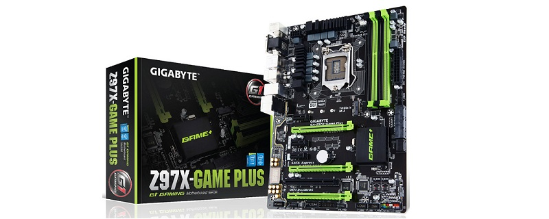 Gigabyte Introduces Z97X-Game Plus Mobo, black and green returns!