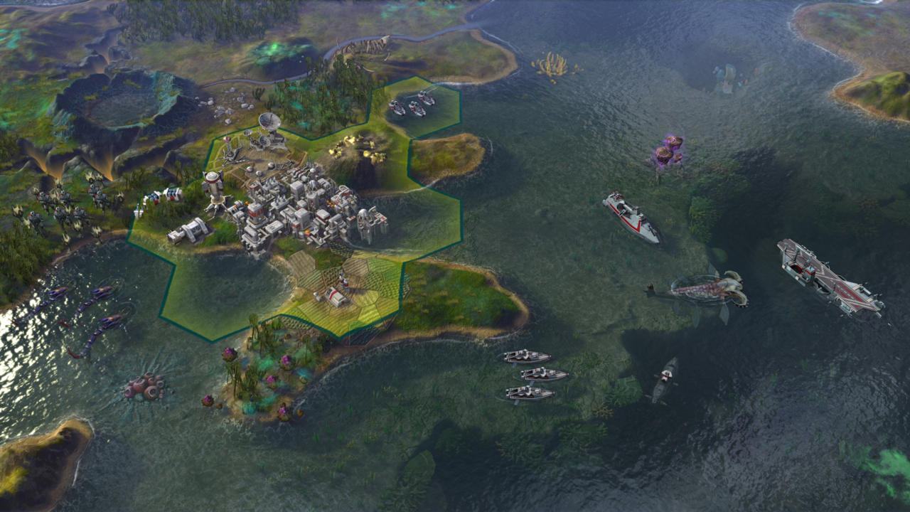 Civilization: Beyond Earth Expansion Rising Tide Announced