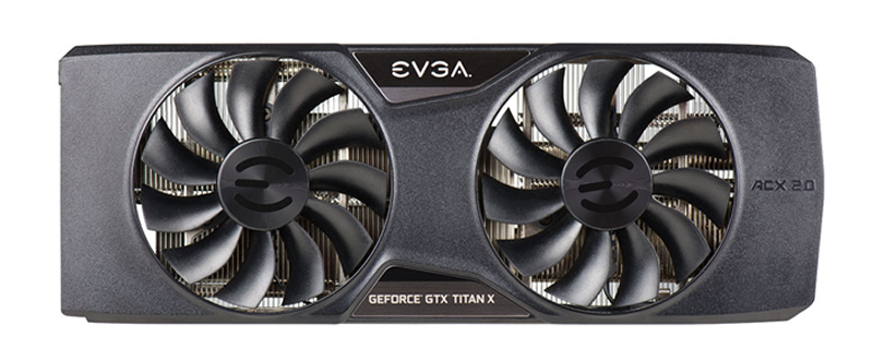 EVGA's ACX 2.0+ Cooler is coming to the Titan X