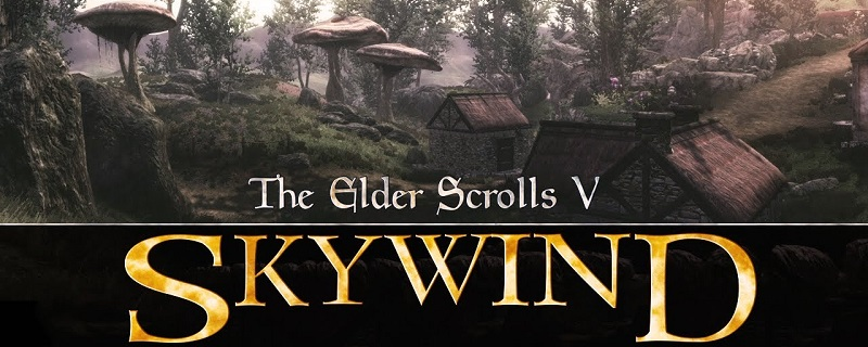 Skywind trailer shows revamped version of Morrowind's starting town