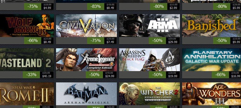 Summer Sale Steam 2015 Games Steam Summer Sale 2015