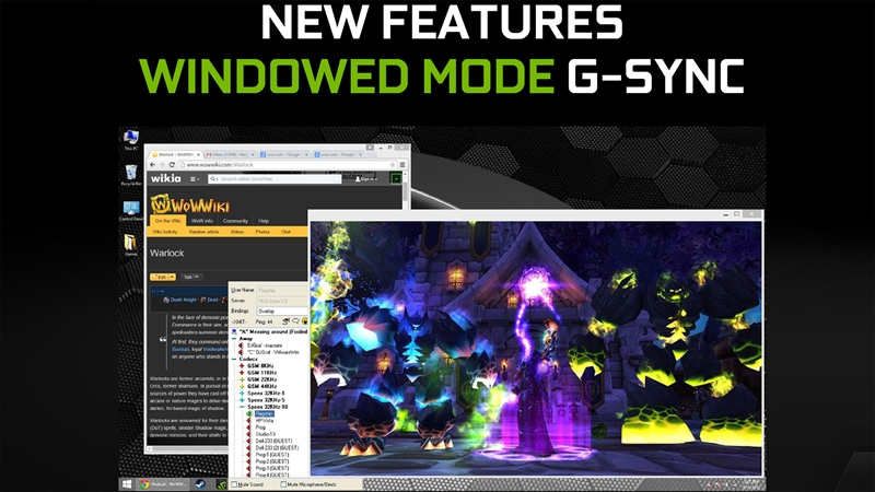 G-Sync Update, New Features and Monitors