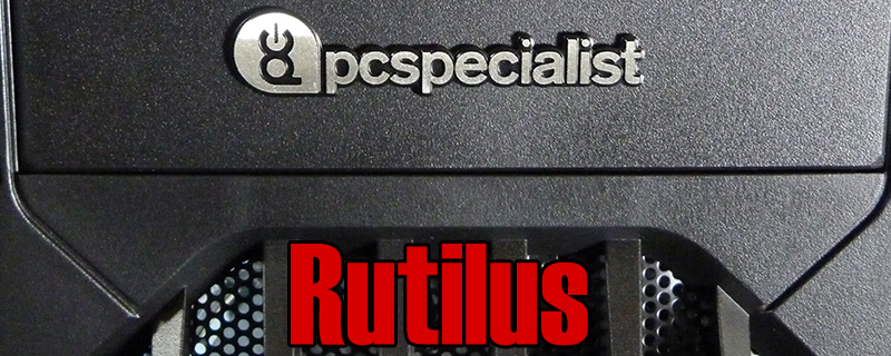 PC Specialist Rutilus AMD Budget Gaming System