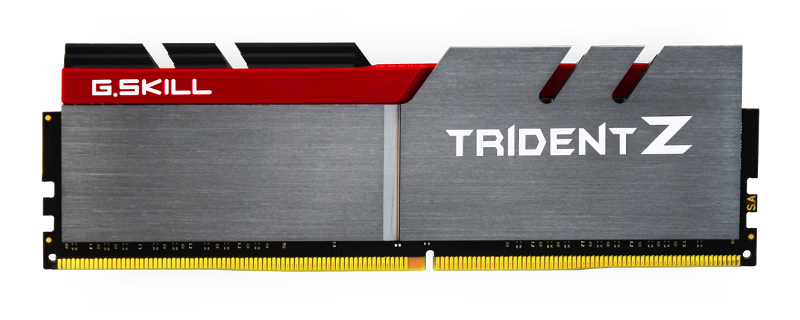 G.SKILL Showcases New Trident Z Series DDR4 Memory