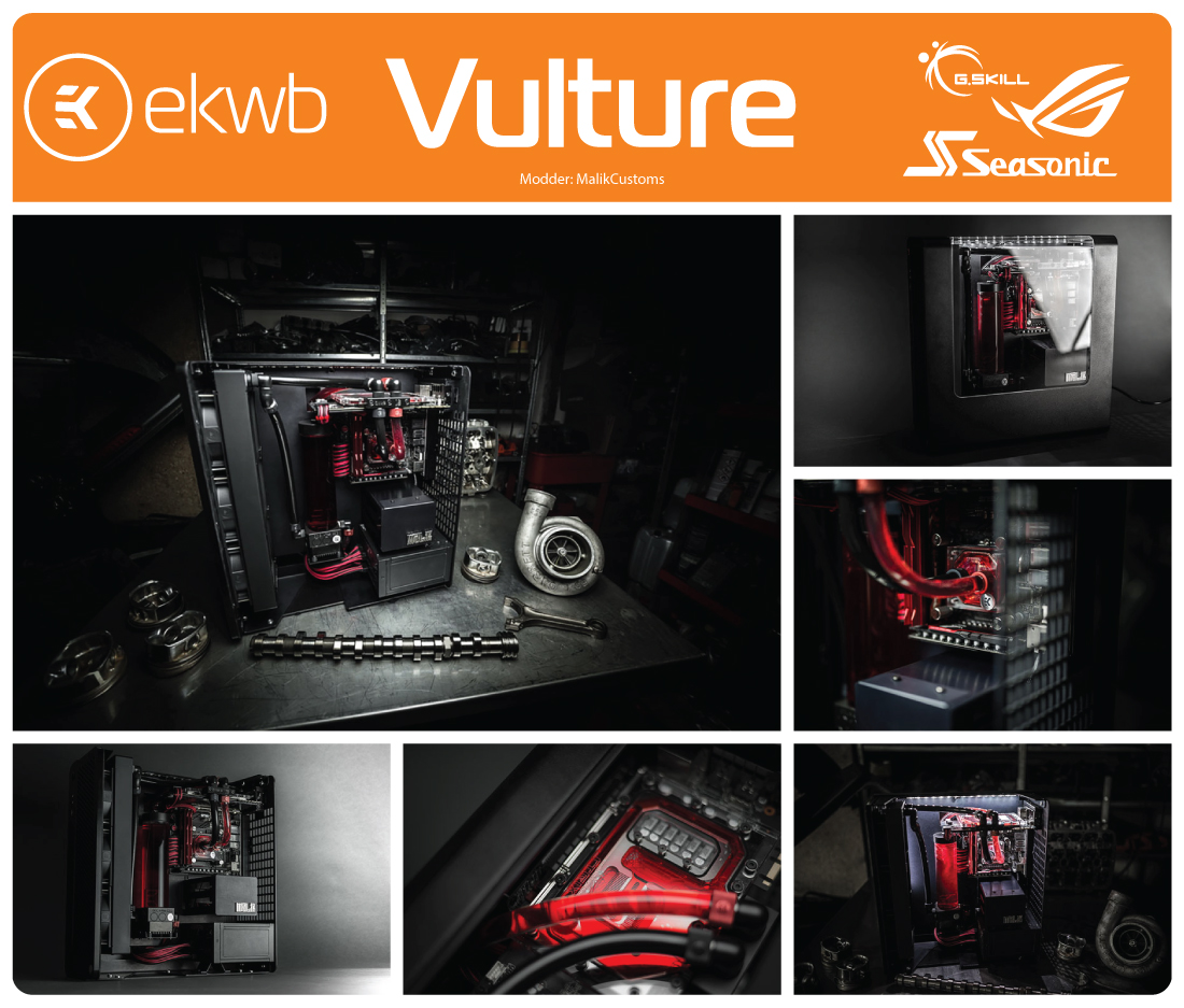 EK Water Blocks' Vulture Mod-Off voting started