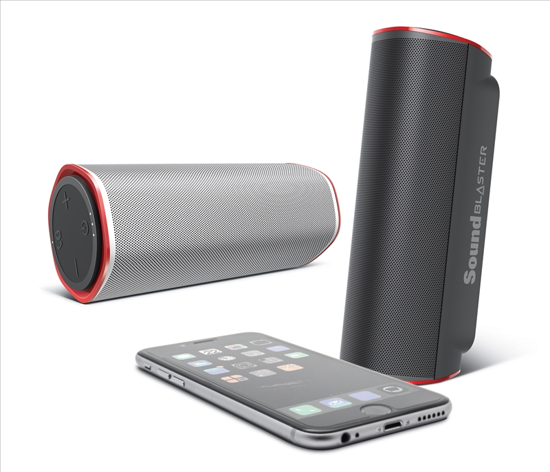 Creative Releases Sound Blaster FRee Portable Speaker