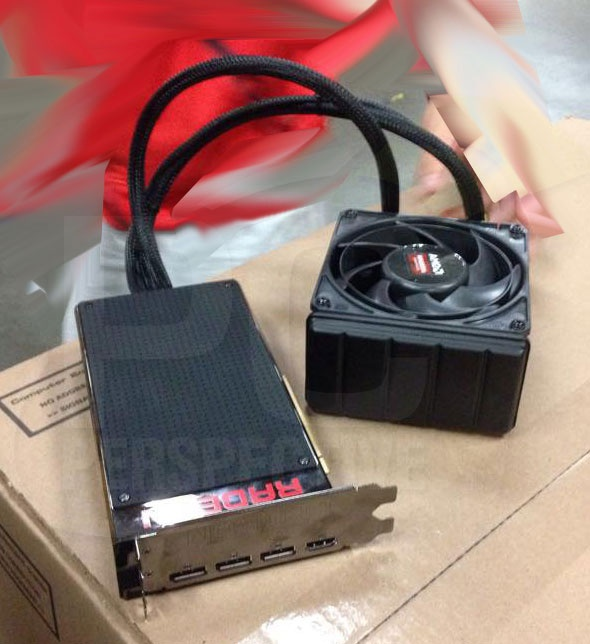 AMD Radeon Fury X Pictured