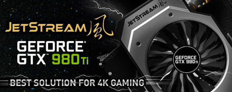 Palit announces GeForce GTX 980 Ti Super JetStream