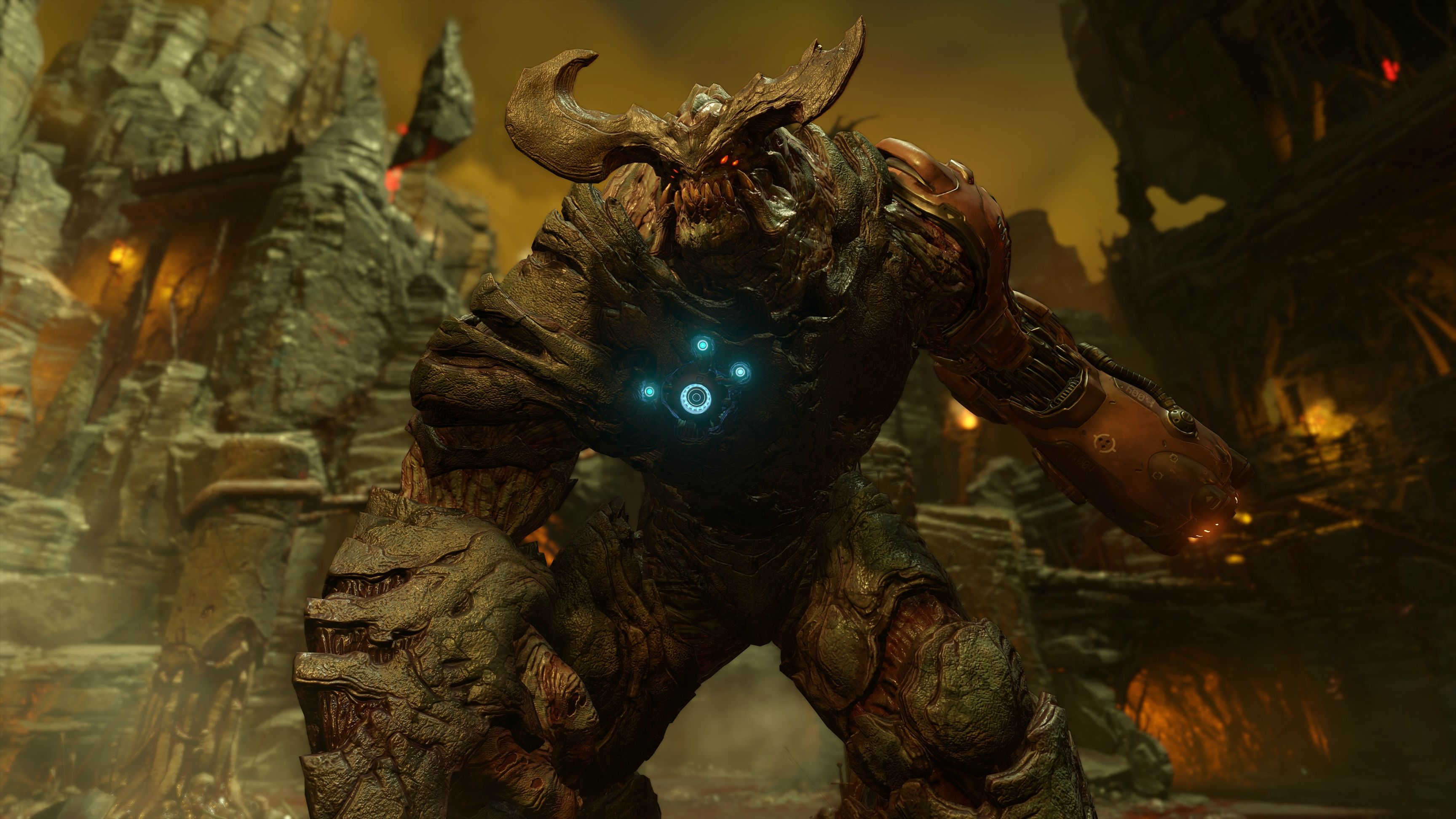 DOOM Announcement and Gameplay E3