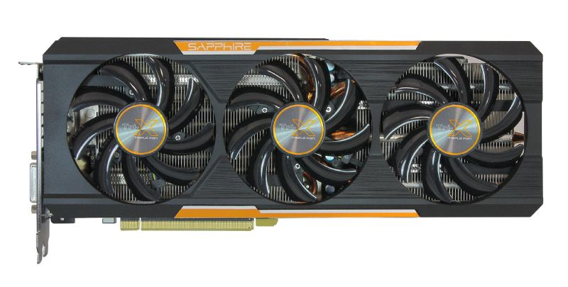 Sapphire R9 390X Tri-X and R9 390 Nitro Pictured
