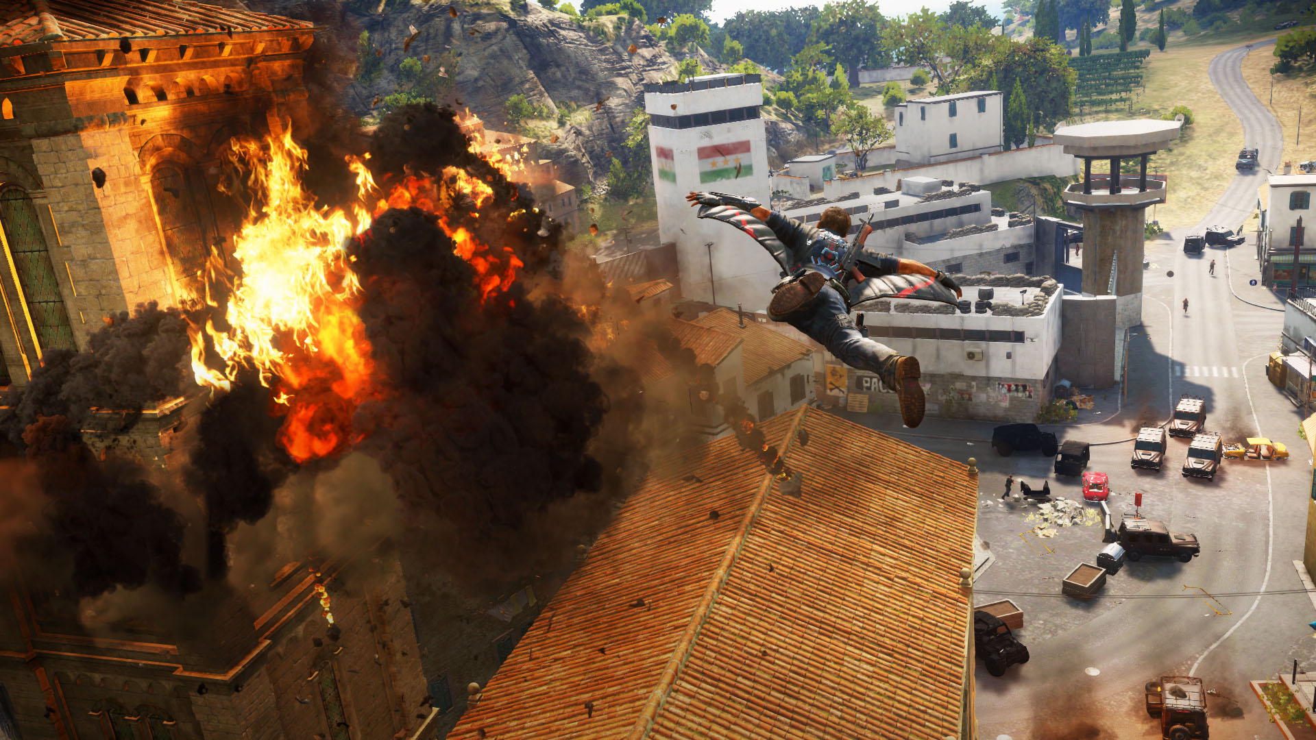 10 minutes of Just Cause 3 gameplay on YouTube