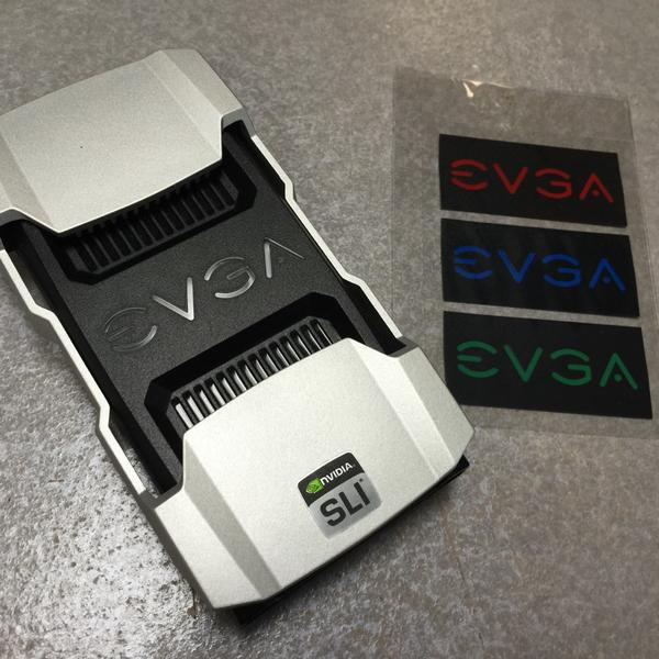 EVGA V2 SLI Bridge With Several Colour Options