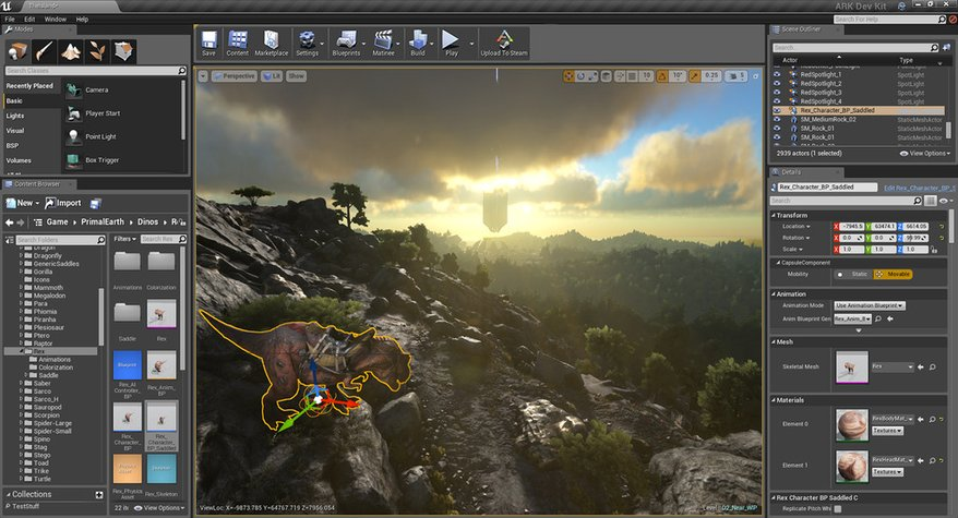 Ark: Survival Evolved releases Unreal Engine 4 mod support