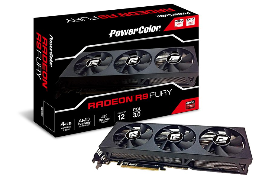 PowerColor Announce their R9 Fury Graphics Card