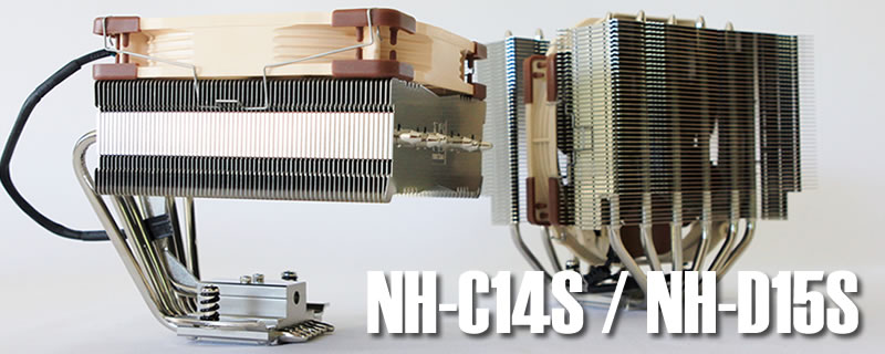 Noctua NH-C14S and NH-D15S Review