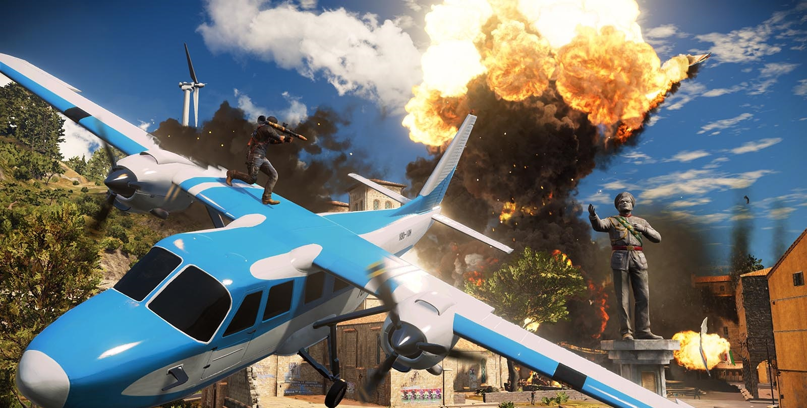 Just Cause 3 Interactive Trailer