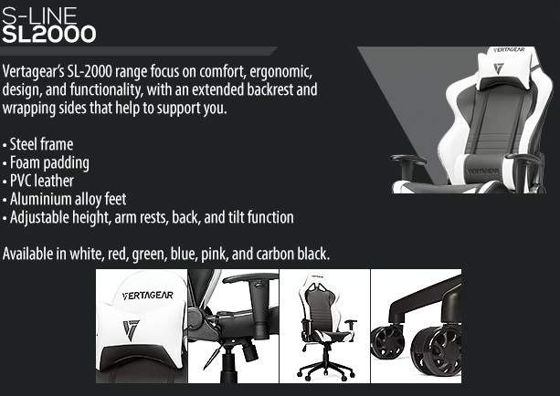 Vertagear, a new up and coming gaming chair company!