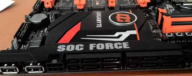Gigabyte Z170-SOC Force Motherboard pictured