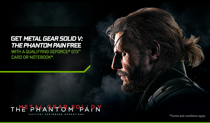 NVIDIA Bundling Metal Gear Solid V with GeForce GPUs