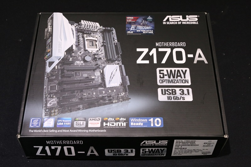 ASUS Z170-A Review