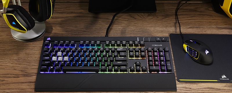 Corsair Announced New RGB Keyboards, Mice, and Headsets and new Cherry MX Switch