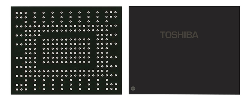 Toshiba Unveils Three NVMe Solid State Drive Families