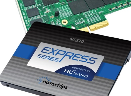 Novachips Shipping Industry's First 4TB/8TB SATA and NVMe SSDs