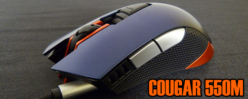 Cougar 550M Gaming Mouse Review