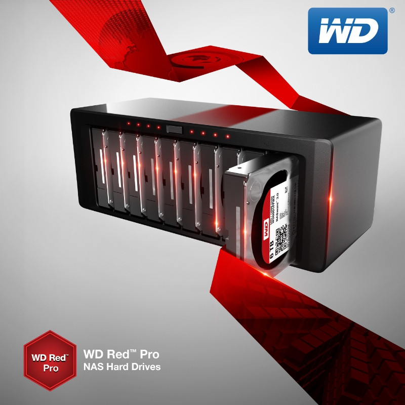 Western Digital Announces WD Red Pro 6 TB Hard Drives